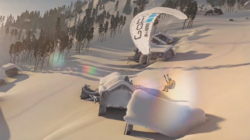 Illustration for article titled Steep Is Ubisoft's Open World Alpine Sports Game