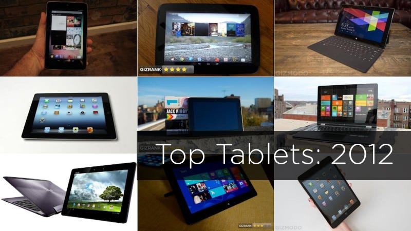 Illustration for article titled The 10 Most Important Tablets of 2012