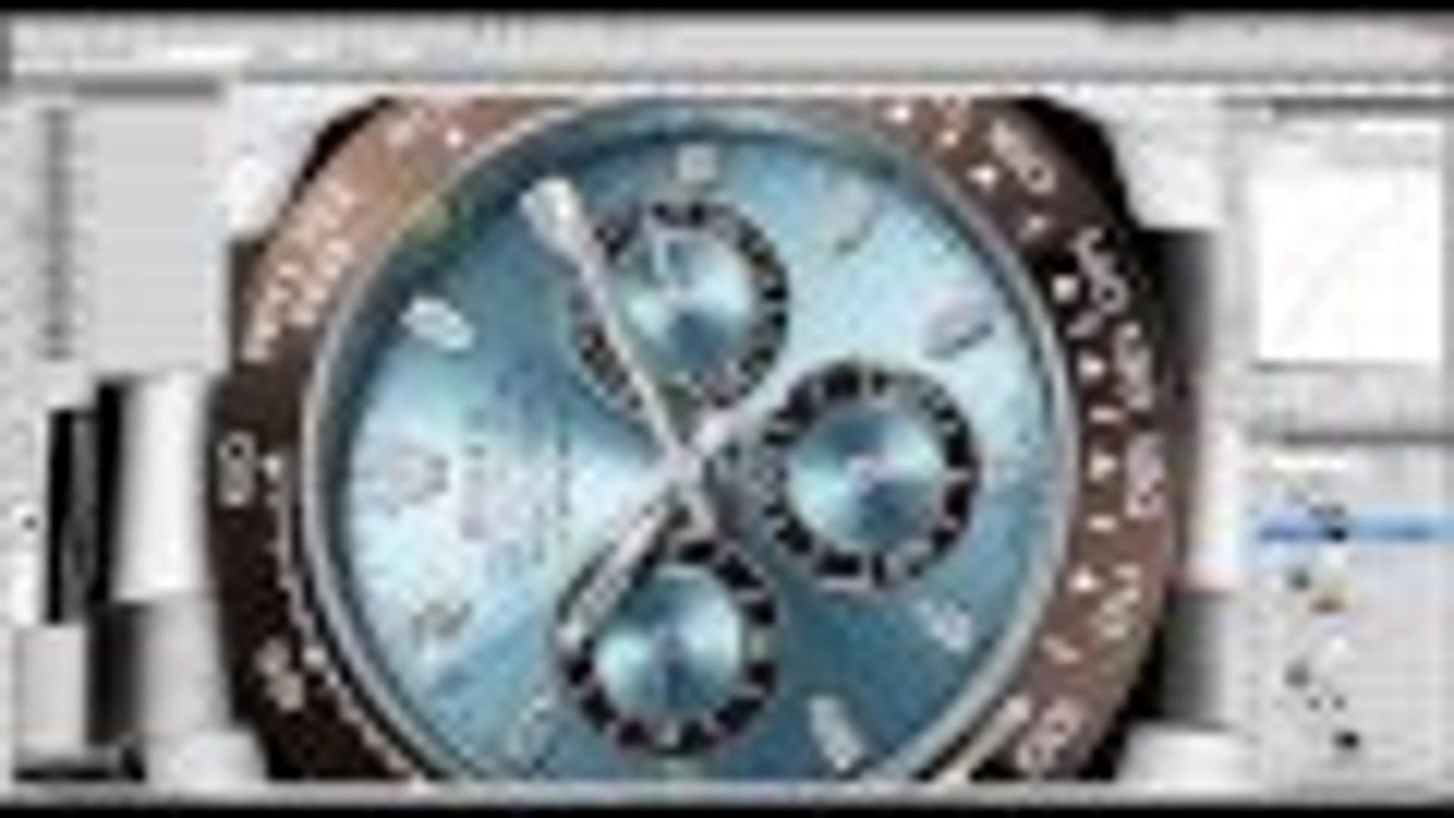 El abuso de Photoshop también llega a los anuncios de relojes