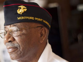 Illustration for article titled First Black Marines Finally Honored