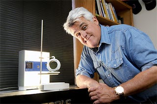 Illustration for article titled Jay Leno Uses 3D Printer to Replace Rare Old Car Parts