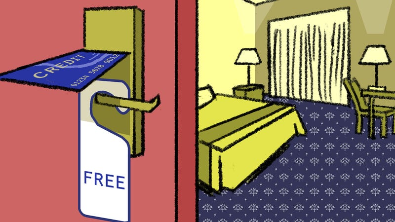 Illustration for article titled The Credit Cards That Reward You with Free Hotel Stays