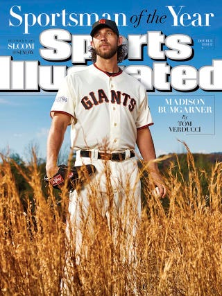 Illustration for article titled How Is Madison Bumgarner Even A Real Person?