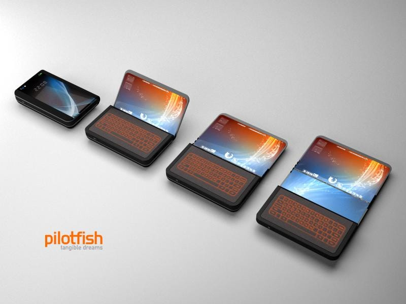 Illustration for article titled ITRI Bringing Folding TFT-EPD Displays to Smartphones Next Year
