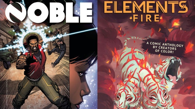 Noble #1 and Elements: Fire