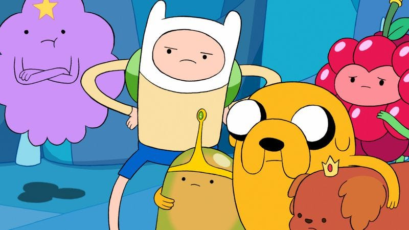 Illustration for article titled Get a half-hour slice of summer vacation withAdventure Time