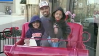 Rene Lima-Marin with his sons, Justus, 7, and Josiah 4.YouTube screenshot