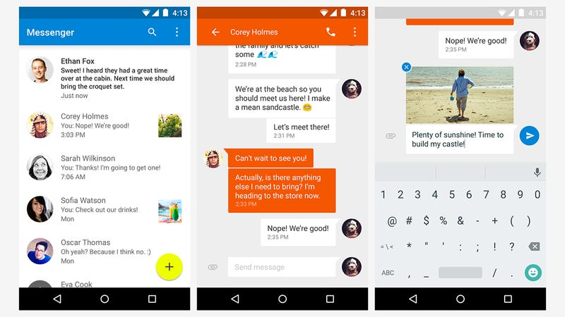 How To Switch To Google S New Messenger App For Sms