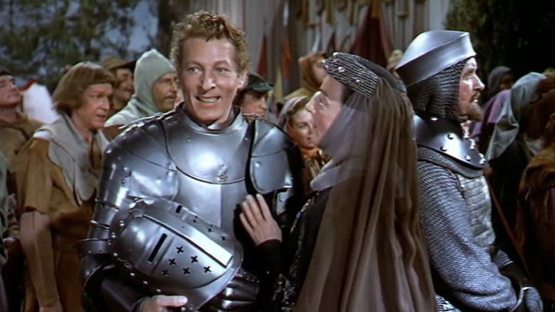 In the court jester danny kaye s life depends on getting for Queen pellet