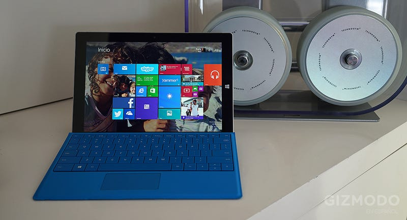 Illustration for article titled Probamos el nuevo Microsoft Surface 3: rápido, ligero y ahora más barato