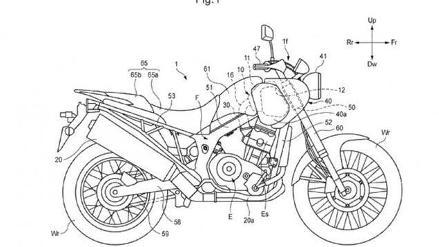 how honda u0026 39 s new airbox will give the africa twin dirt bike ergonomics