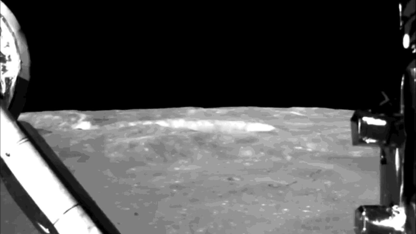 La agencia espacial china publica el alucinante vídeo de su aterrizaje en la cara oculta de la Luna