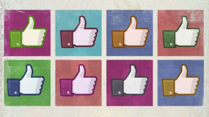 "Illustration for article titled Facebook to offer a range of Reactions instead of letting you ""dislike"" posts"