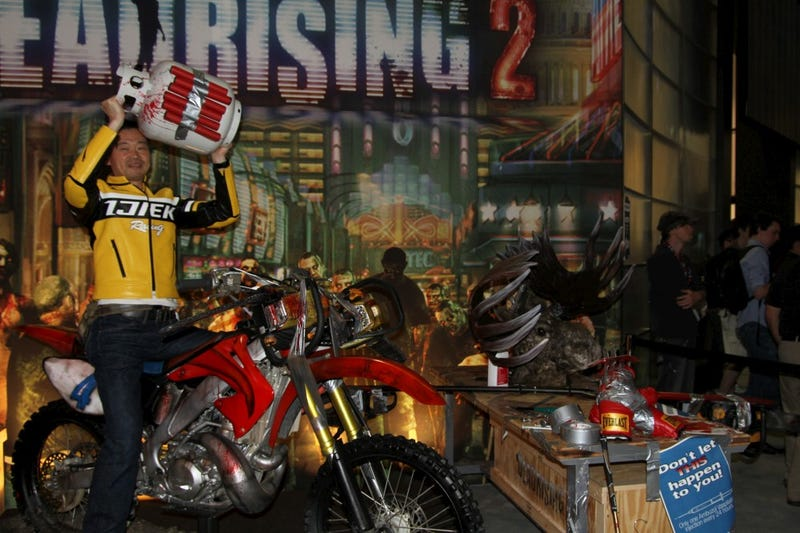 Illustration for article titled Dead Rising Creator Has a Request For Us