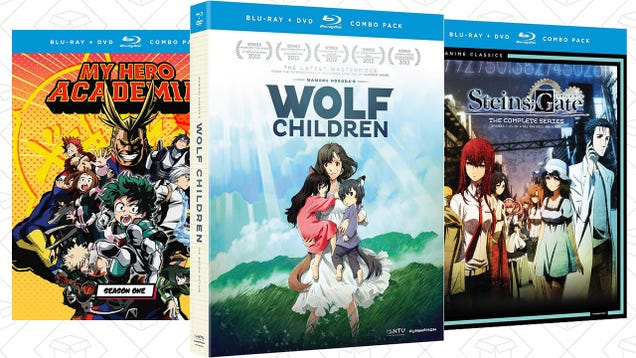 Add To Your Anime Collection With This One-Day Amazon Sale
