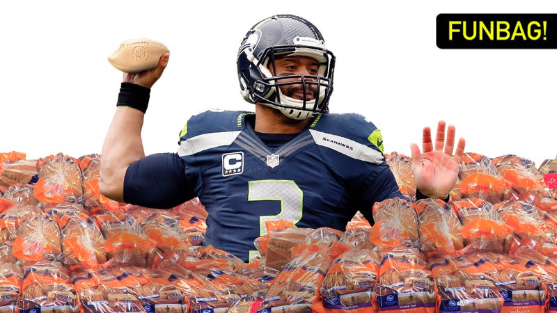 Illustration for article titled Russell Wilson's Ball-Bread Is Fucking Weird