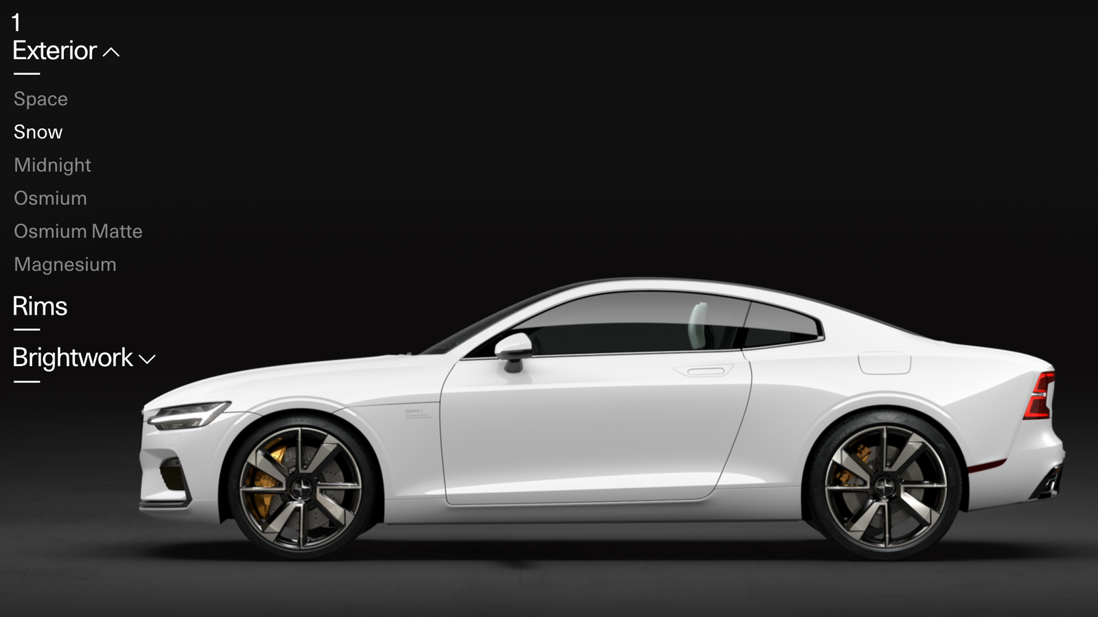 Progressive Insurance Payment >> The Polestar 1 Configurator Is Sort Of Depressing