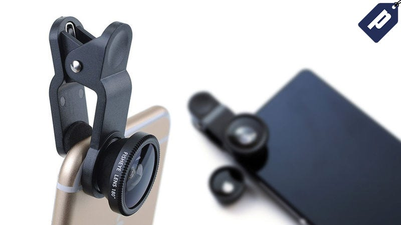 Illustration for article titled Get This 3-in-1 Smartphone Lens Kit For Just $12 + Free Shipping