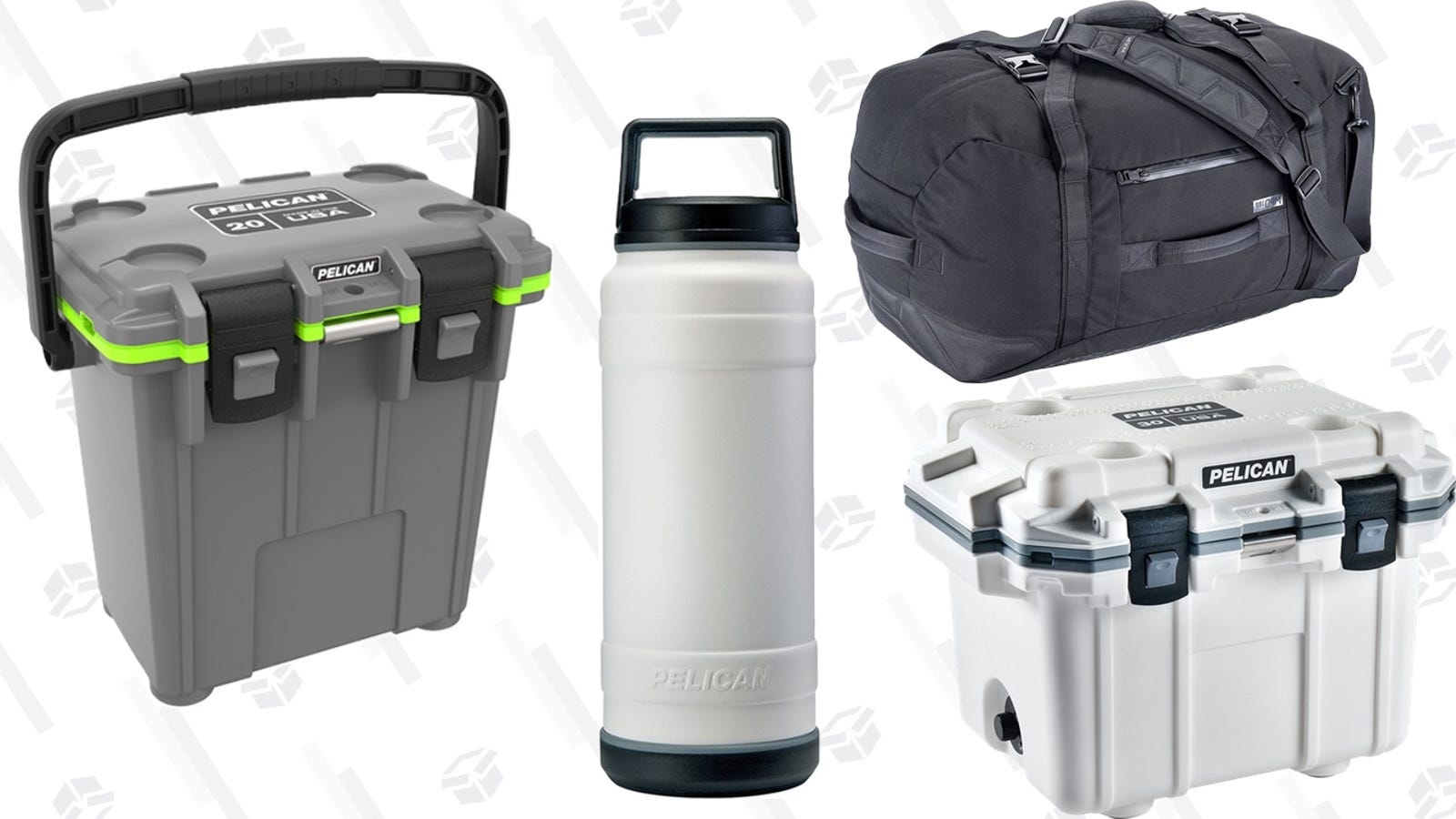 Keep Ice Frozen For Over a Week With These Discounted Pelican Coolers, Plus More Gear on Sale