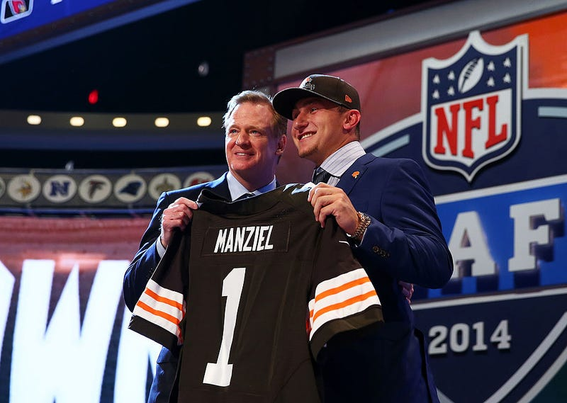 Illustration for article titled The NFL Draft Did Not Ruin Johnny Manziel