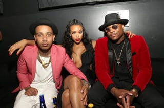 Cast members Yung Berg, Masika Kalysha and Sincere Show attend the Love & Hip Hop: Hollywood premiere Sept. 9, 2014, in Hollywood, Calif.Jesse Grant/Getty Images for VH1