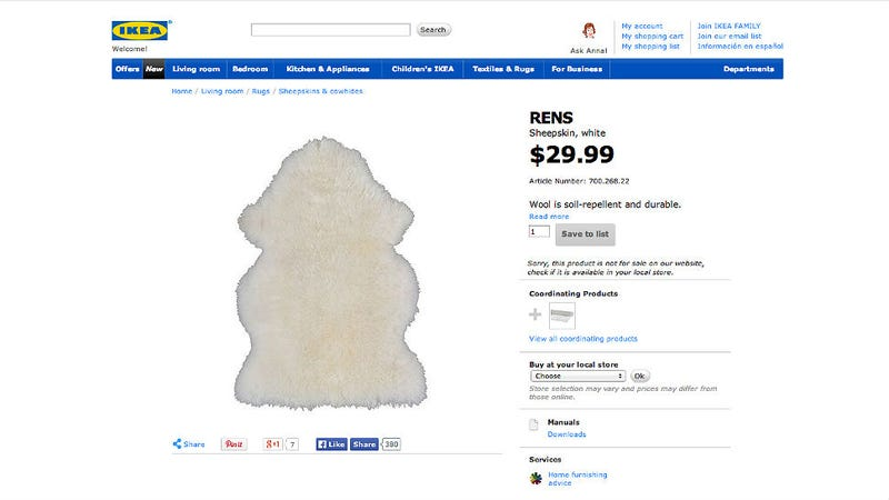 Who Needs A Forever 21 Faux Fur Vest When You Can Just Fashion One From  Your Roommateu0027s IKEA Rug.