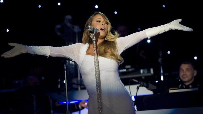 Illustration for article titled Mariah Carey unleashes her dark magic, sends Glitter soundtrack to no. 1 on iTunes