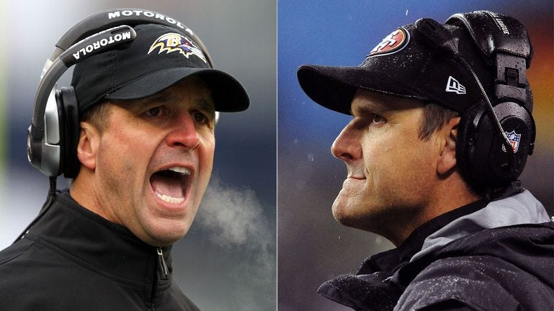 Illustration for article titled Nation Excited For Opportunity To Watch Harbaugh Lose Super Bowl