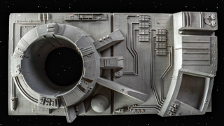 A piece of the Death Star.