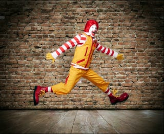 Illustration for article titled Kitchenette: Catch an Exclusive Look at Ronald McDonald's Tweets