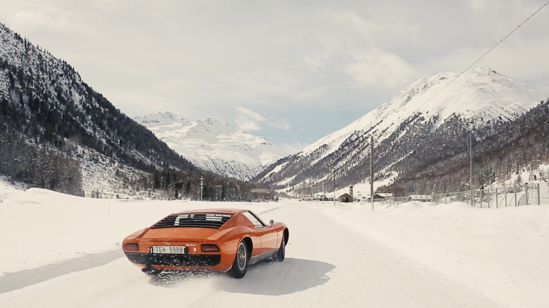 Illustration for article titled Yes Definitely Thrash A Lamborghini Miura Around In The Snow