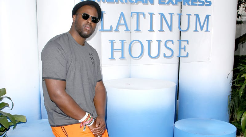 Winston Duke at the American Express Platinum House on April 14, 2019 in Palm Springs, California.