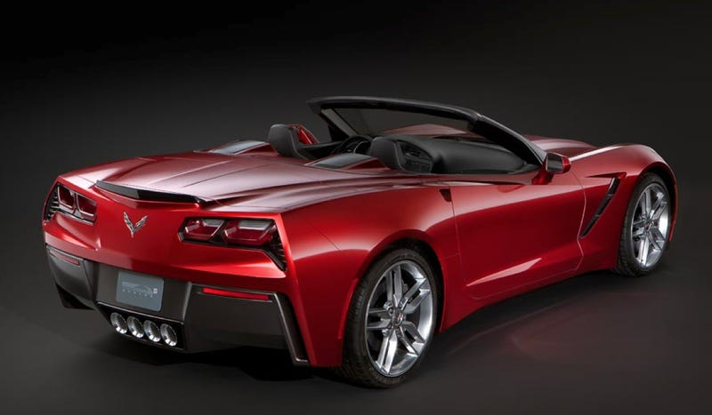 Illustration for article titled 2014 Chevy Corvette Convertible: This Is Probably It [UPDATE: Or Maybe Not]