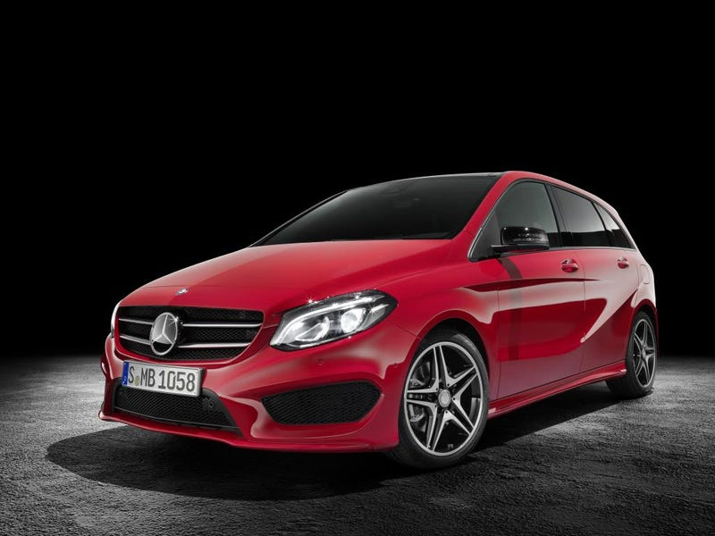 Illustration for article titled The New 2015 Mercedes-Benz B-Class Revealed