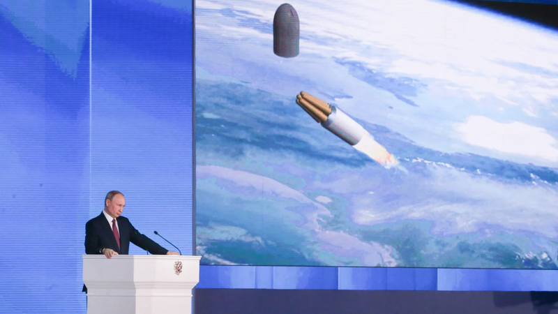 Russia's President Vladimir Putin demonstrated his vision for a nuclear-powered cruise missile at his annual address to the Federal Assembly of the Russian Federation in March 2018
