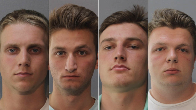 Tyler Curtiss, Matthew Lipp, Joshua Shaffer and Seth Taylor are the students charged with hate crimes related to racist and anti-Semitic graffiti painted at Glenelg High School.