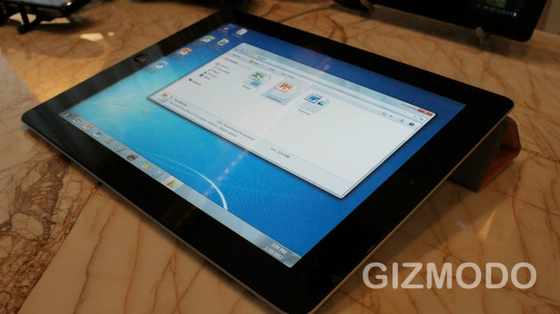 Illustration for article titled Virtual Windows App For iPad Is Now Available, and Free