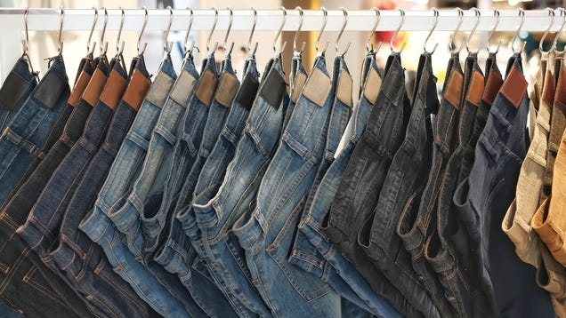 How to Reshape Stretched-Out Jeans