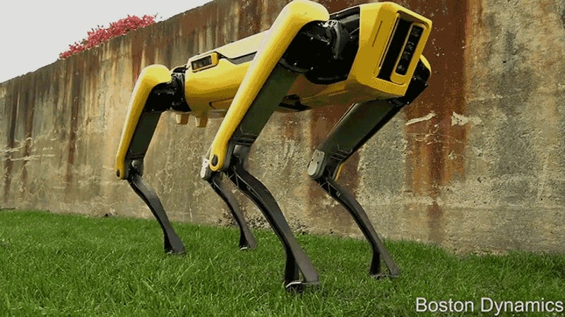 Spot Mini: Hunderoboter von Boston Dynamics ist jetzt weniger gruselig