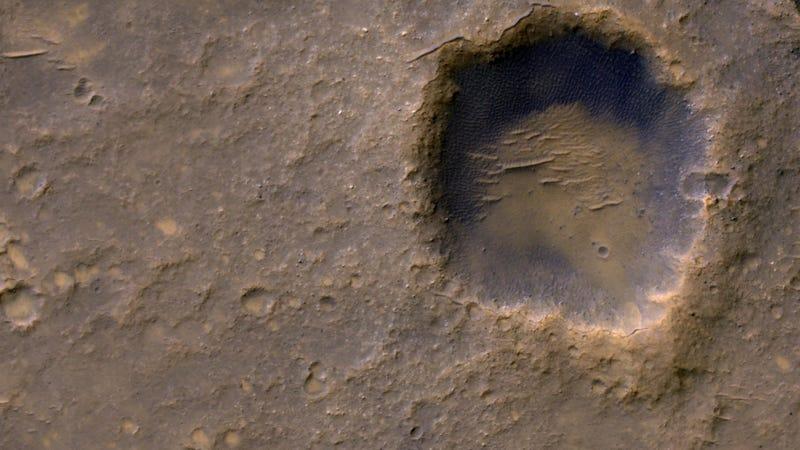 Mars' Bonneville Crater