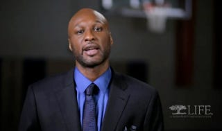 """Illustration for article titled Lamar Odom, Just Involved In An Accident That Killed A 15-Year-Old, Is Spokesman For """"Life Insurance Awareness Month"""""""