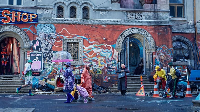 Illustration for article titled Street artists sue Terry Gilliam over Zero Theorem mural