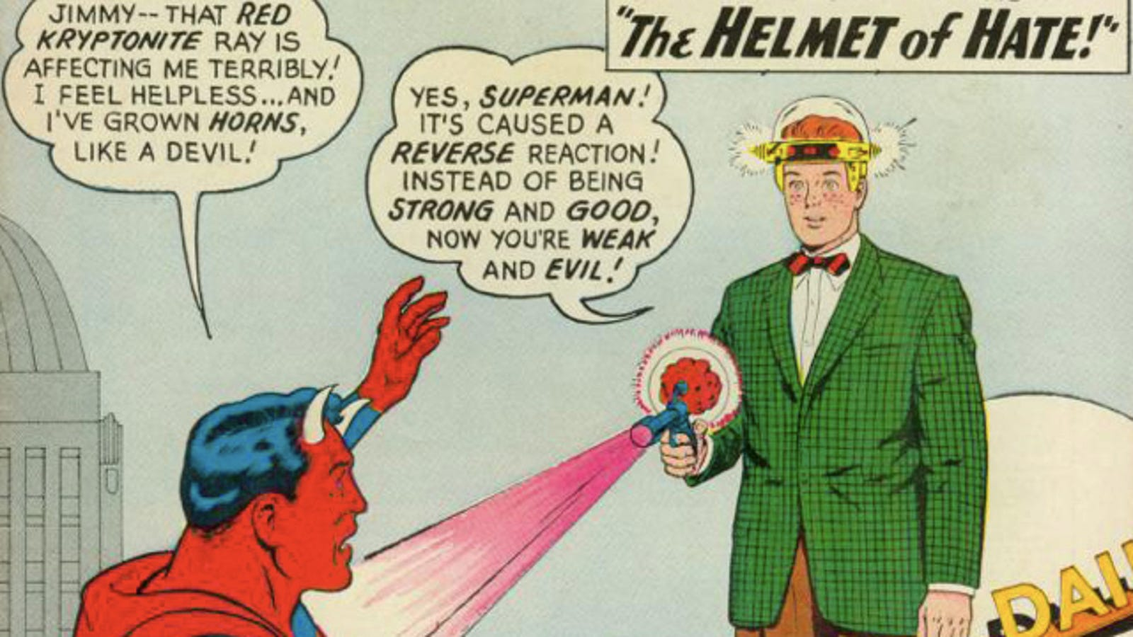Remember When Superman Turned Into Satan
