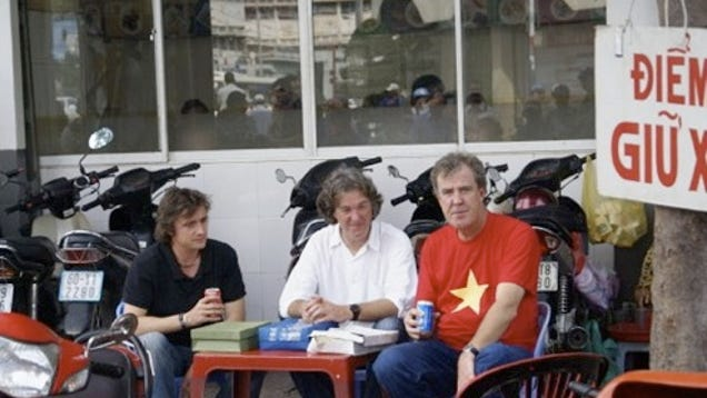 Top Gear Spotted Filming Episode In Vietnam