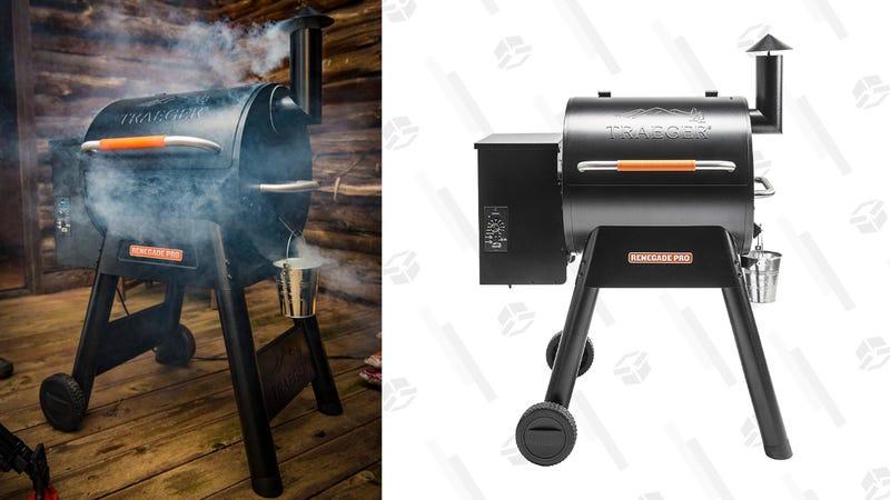 Traeger Renegade Pro Pellet Grill | $490 | Amazon