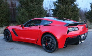 Illustration for article titled This 2015 Corvette Z06 had 891 miles when the engine grenaded