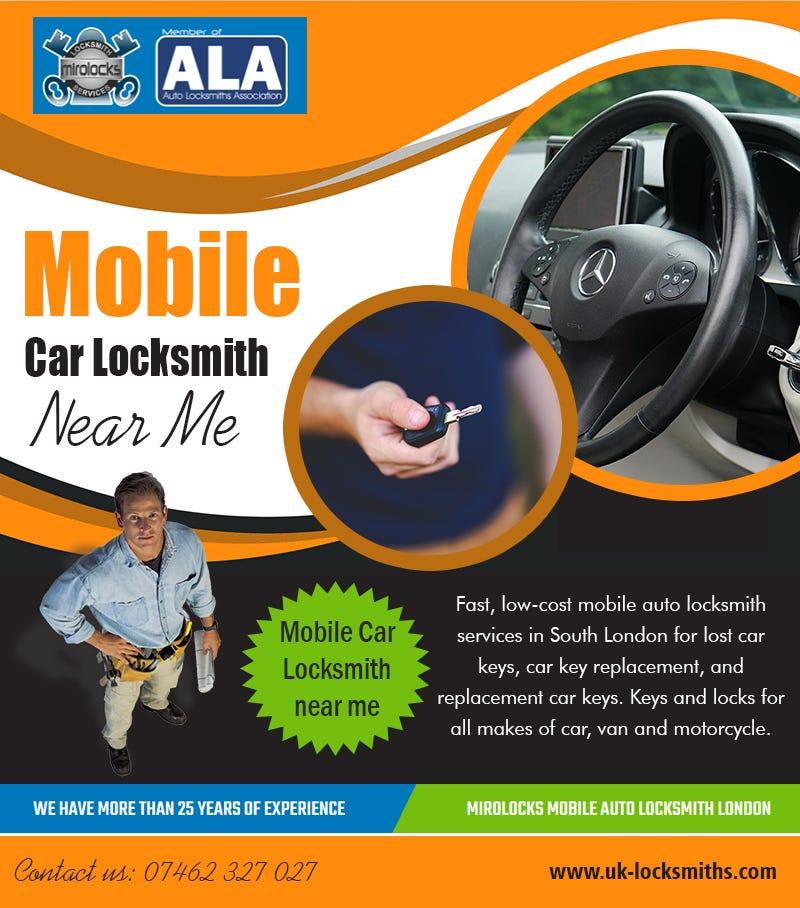 Illustration for article titled Mobile Car Locksmith   near me | Call - 07462 327 027 | uk-locksmiths.com