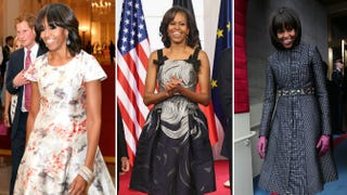 Illustration for article titled How Michelle Obama Pleased the Fashion Gods in 2013