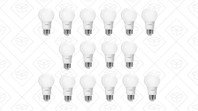 Upgrade Your Home to LED Lighting All At Once With These Discounted 16-Packs