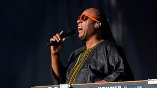 Stevie Wonder performs on day 2 of the Calling Festival at Clapham Common on June 29, 2014, in London.Ben A. Pruchnie/Getty Images